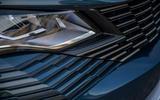 Peugeot 3008 Hybrid 2021 UK review - headlights