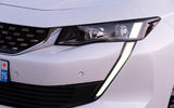 Peugeot 508 Hybrid4 2020 first drive review - daylight running lights