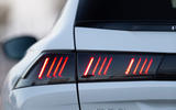 Peugeot 508 SW 2018 first drive review - rear lights