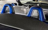 Porsche 718 Boxster GTS 4.0 PDK 2020 UK first drive review - headrests