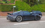 2020 Porsche 911 GT3 spotted testing side