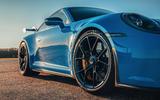 5 Porsche 911 GT3 2021 UK first drive review alloy wheels