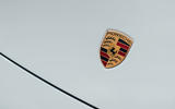 Porsche 911 Targa 2020 UK first drive review - nose badge