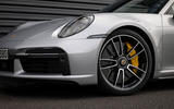 Porsche 911 Turbo S 2020 first drive review - alloy wheels