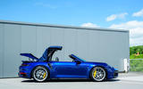 Porsche 911 Turbo S Cabriolet 2020 UK first drive review - folding roof