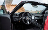 Porsche Boxster T 2019 first drive review - dashboard