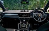 Porsche Cayenne 2018 UK first drive review cabin