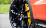 Porsche Cayenne Coupé 2019 first drive review - alloy wheels