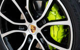 Porsche Cayenne E-Hybrid 2018 review brake calipers