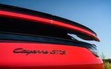 Porsche Cayenne GTS 2020 UK first drive review - spoiler