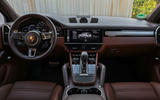 Porsche Cayenne Turbo S E-hybrid 2019 first drive review - dashboard