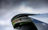 Porsche Cayenne Turbo S E-Hybrid 2020 UK first drive review - spoiler