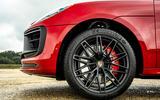 5 Porsche Macan GTS 2021 UK LHD first drive alloy wheels