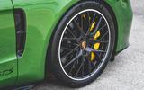 Porsche Panamera GTS 2019 UK first drive review - alloy wheels