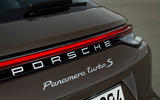 Porsche Panamera Turbo S Sport Turismo 2020 first drive review - rear end