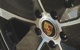Porsche Taycan 4S 2020 UK first drive review - alloy wheels