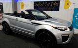 Range Rover Evoque convertible - static front