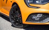 Renault Megane RS 2018 UK first drive alloy wheels