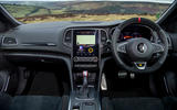 5 Renault Megane RS 300 EDC 2021 UK first drive review dashboard