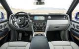 Rolls-Royce Cullinan 2018 first drive head-on dashboard