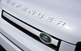 5 Rover Defender PHEV 2021 UK FD front grille