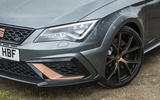 Seat Leon Cupra R 2018 UK review front end