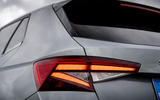 5 Skoda Fabia 2021 LHD UK first drive review rear lights