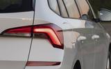 Skoda Kamiq 2019 UK first drive review - rear lights