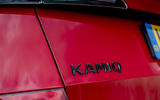 5 Skoda Kamiq Monte Carlo 2021 UK first drive rear badge