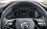 5 Skoda Octavia E Tec hybrid 2021 UK first drive review instruments