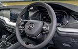 Skoda Octavia IV 2020 first drive review - dashboard