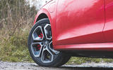 Skoda Octavia vRS iV 2020 UK First drive - alloy wheels