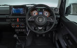 Suzuki Jimny 2018 UK first drive review - dashboard