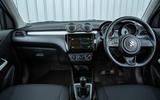 Suzuki Swift Attitude 2019 UK first drive review - dashboard