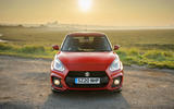 Suzuki Swift Sport hybrid 2020 UK first drive review - static nose