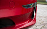 Tesla Model 3 Performance 2019 first drive review - front bumper