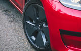 Tesla Model 3 Standard plus 2020 UK first drive review - alloy wheels