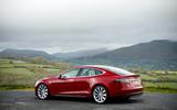 Tesla Model S - static side