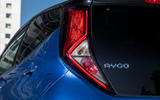 Toyota Aygo 2018 review rear lights