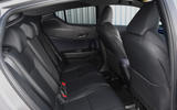 5 Toyota C HR nearly new guide 2021 rear seats