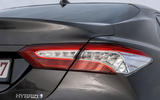 Toyota Camry 2019 European first drive review - rear lights