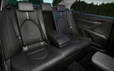 Toyota Camry 2019 first drive review rear seats