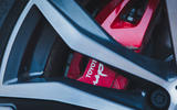 5 Toyota GR Supra 2 litre 2021 UK first drive review brake calipers