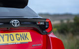 Toyota GR Yaris 2020 UK first drive review - rear lights