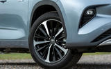 5 Toyota Highlander 2021 UK first drive review alloy wheels