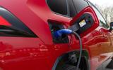 5 Toyota RAV4 PHEV 2021 UK first drive review charging port