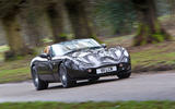 TVR Tuscan Vulcan - tracking front