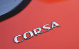 Vauxhall Corsa 2019 UK first drive review - rear badge