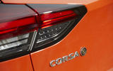 Vauxhall Corsa-e 2020 UK first drive review - rear badge