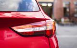 Vauxhall Grandland X Hybrid4 2020 first drive review - rear lights